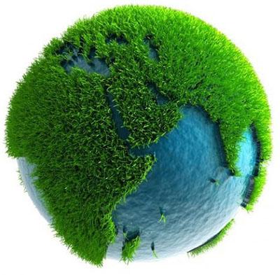Die Erde ist bunt